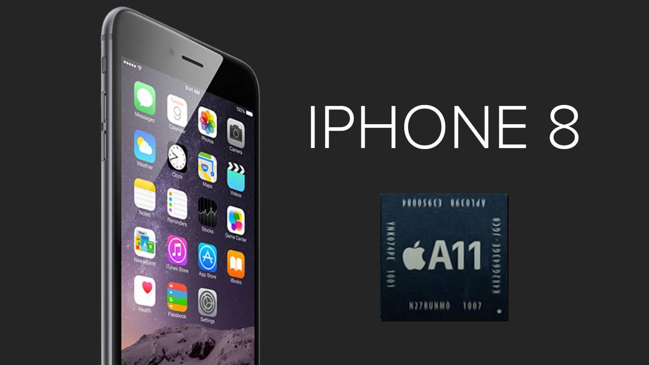 منصة A11 من شركة Apple في هاتف iPhone 8