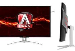 شاشة AOC AG322QCX المنحنية بتقنية AMD FreeSync متوفرة للشراء بـ 430 دولار