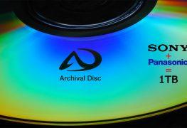 قرص Panasonic الضوئي بسعة 1TB سيحتفظ بالبيانات لمدة 100 عام!