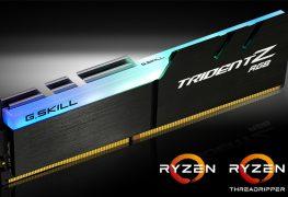 خط جديد من ذواكر G.Skill Trident Z RGB DDR4 المخصصة لمنصة معالجات AMD