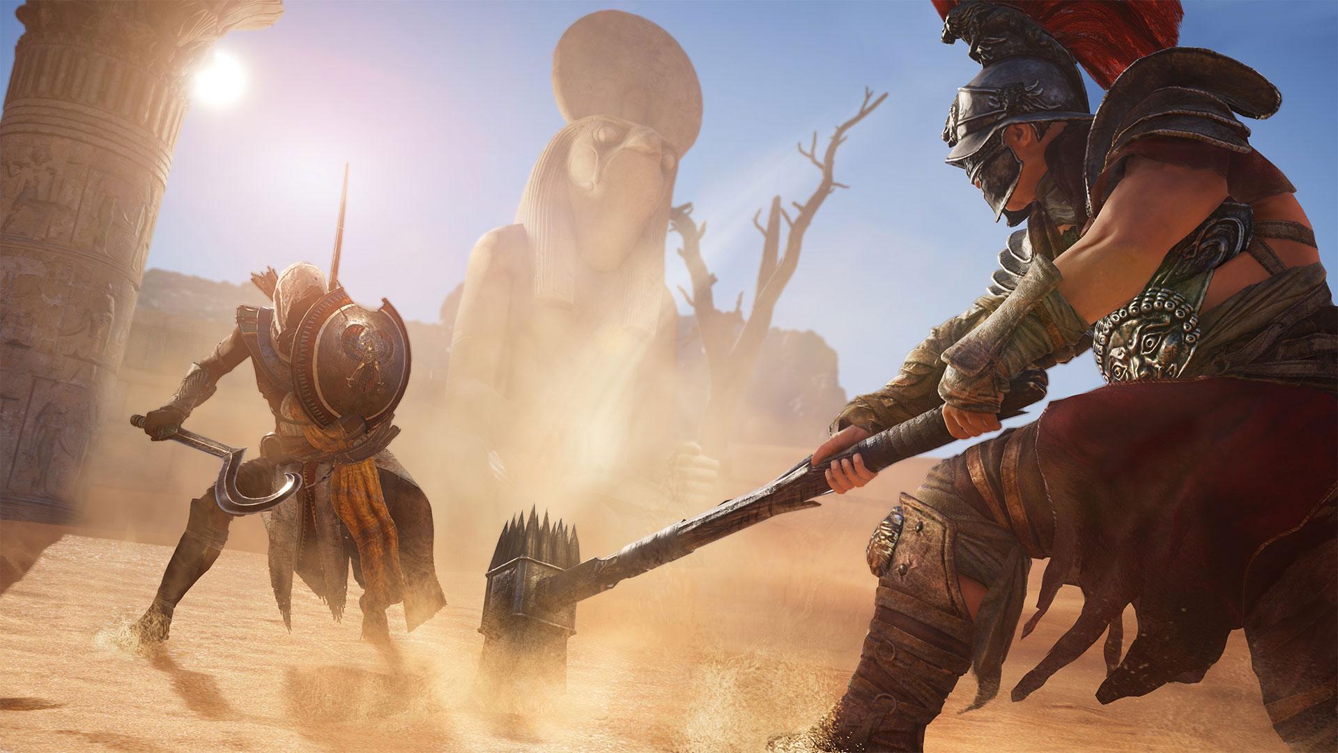 Assassin's Creed Origins Combat