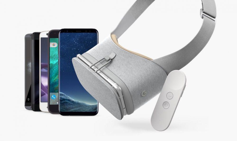 هاتف Galaxy Note8 يحصل علي دعم Daydream VR