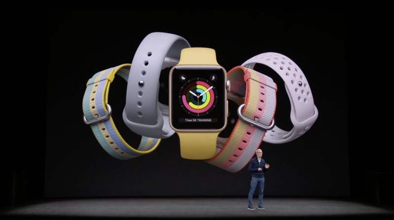 Apple Watch Series 3 مؤتمر شركة Apple