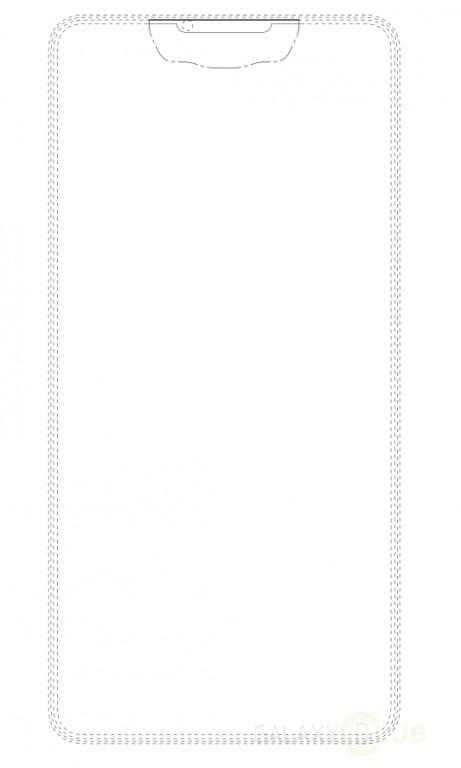 سامسونج تعمل علي تصميم جديد لـ شاشة بدون حواف بالكامل!!