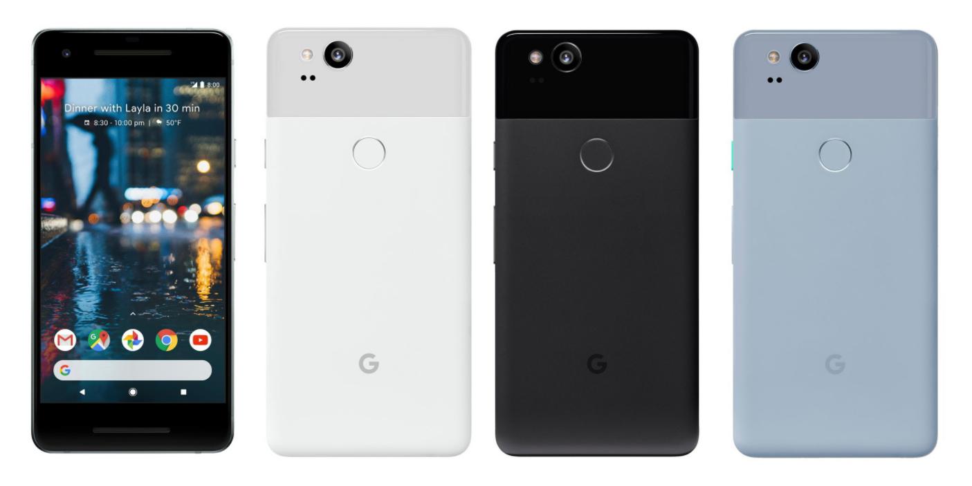 Pixel 2 و Pixel 2 XL