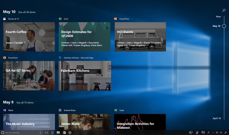 تحديث نظام التشغيل Windows 10 Fall Creators