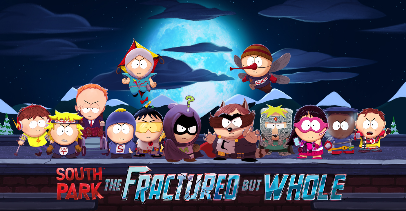 South Park Fractured But Hole