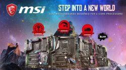 رحب بعائلة لوحات MSI Z370 المتضمنة 13 لوحة جديدة لمعالجات Coffee Lake