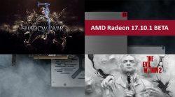 تعريف AMD Radeon 17.10.1 BETA يضيف دعم Radeon Chill للعبة Evil Within 2