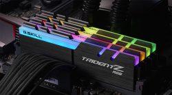 لأول مرة بالعالم G.SKILL تطلق ذاكرة Trident Z RGB DDR4-4266MHz بتوقيت CL17 فائق الانخفاض!