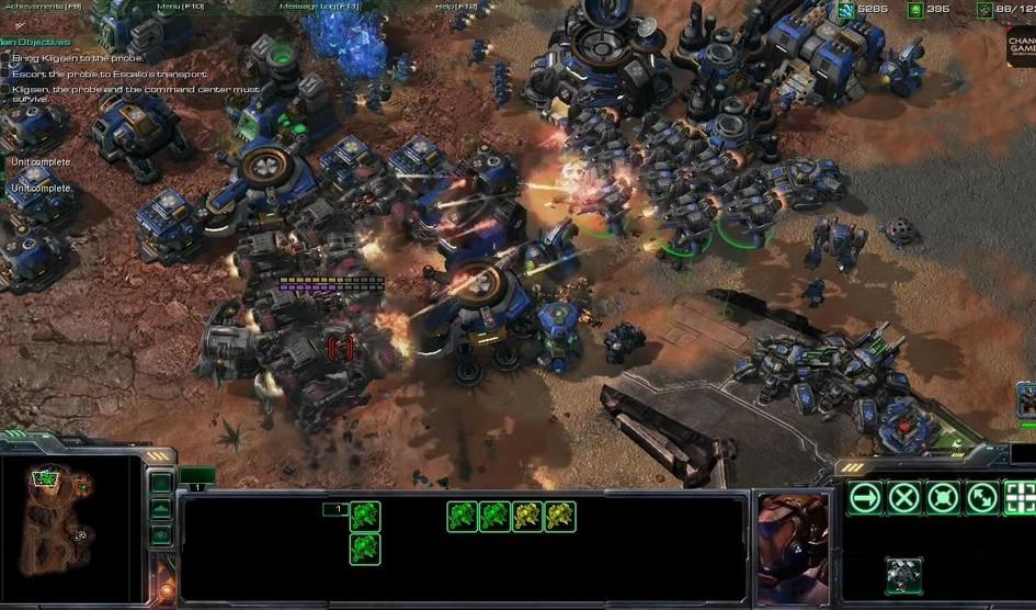 لعبة StarCraft 2