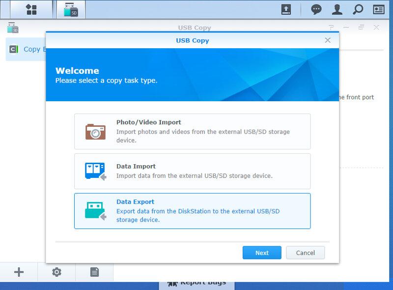 Synology USB Copy
