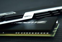 شركة G.Skill ترد على منافسيها بحزمة ذاكرة Trident Z DDR4-4400 32GB