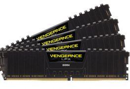 شركة CORSAIR تقدم أسرع حزمة ذاكرة 32GB 4x8GB DDR4 بالعالم