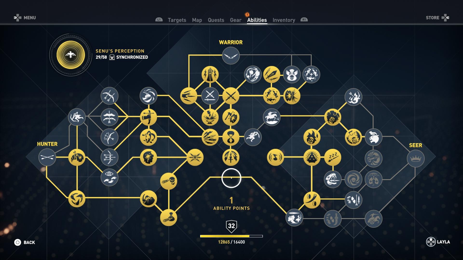 Skill Tree Assassin's Creed Origins نصائح