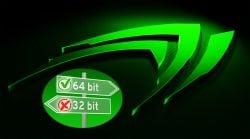 انفيديا تستعد لإيقاف الدعم كلياً عن أنظمة تشغيل 32bit بعد تعريفات R390