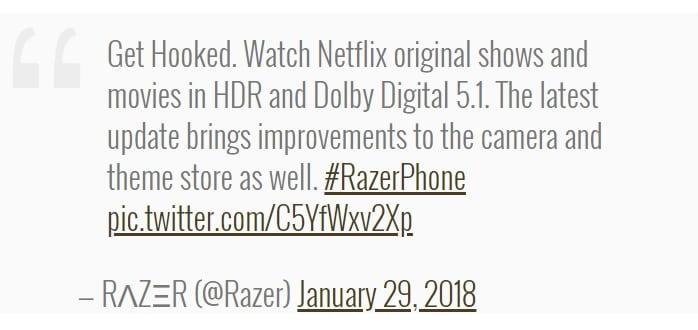 هاتف Razer