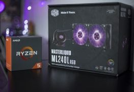 Cooler Master MasterLiquid ML240L RGB AMD RYZEN Threadripper