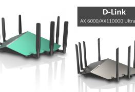 معرض CES2018: الكشف عن راوتر D-Link AX 6000/AX110000 Ultra Wi-Fi بأداء خرافي