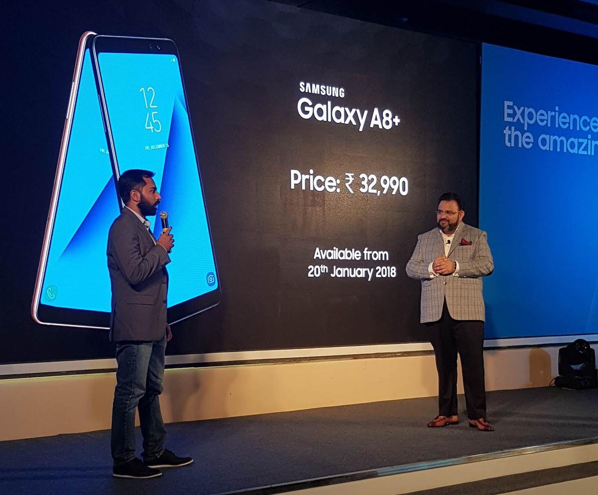 هاتف Galaxy A8+