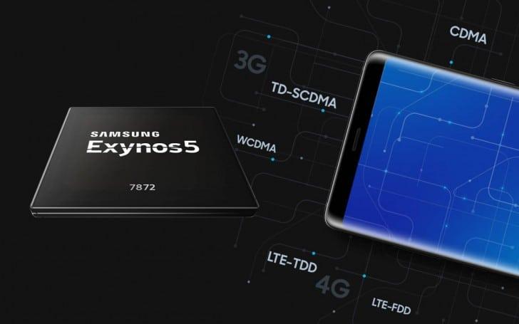 منصة Exynos 7872