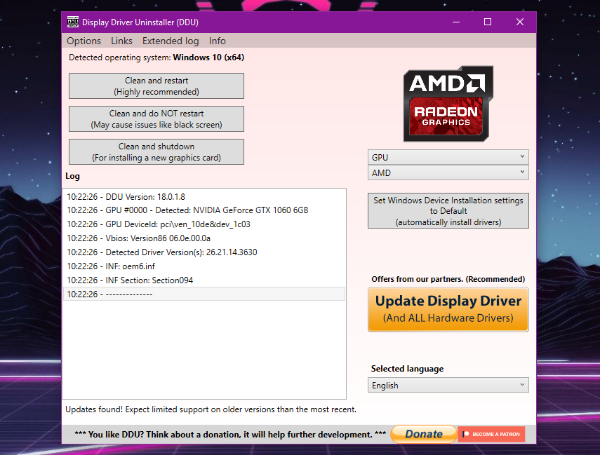 بطاقتك من AMD؟