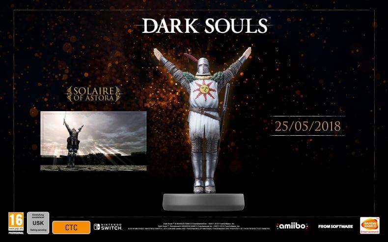 الـ Amiibo Dark Souls: Remastered
