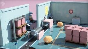 جانب من استعراض EA لتقنية تتبع الأشعة علي بطاقة Volta