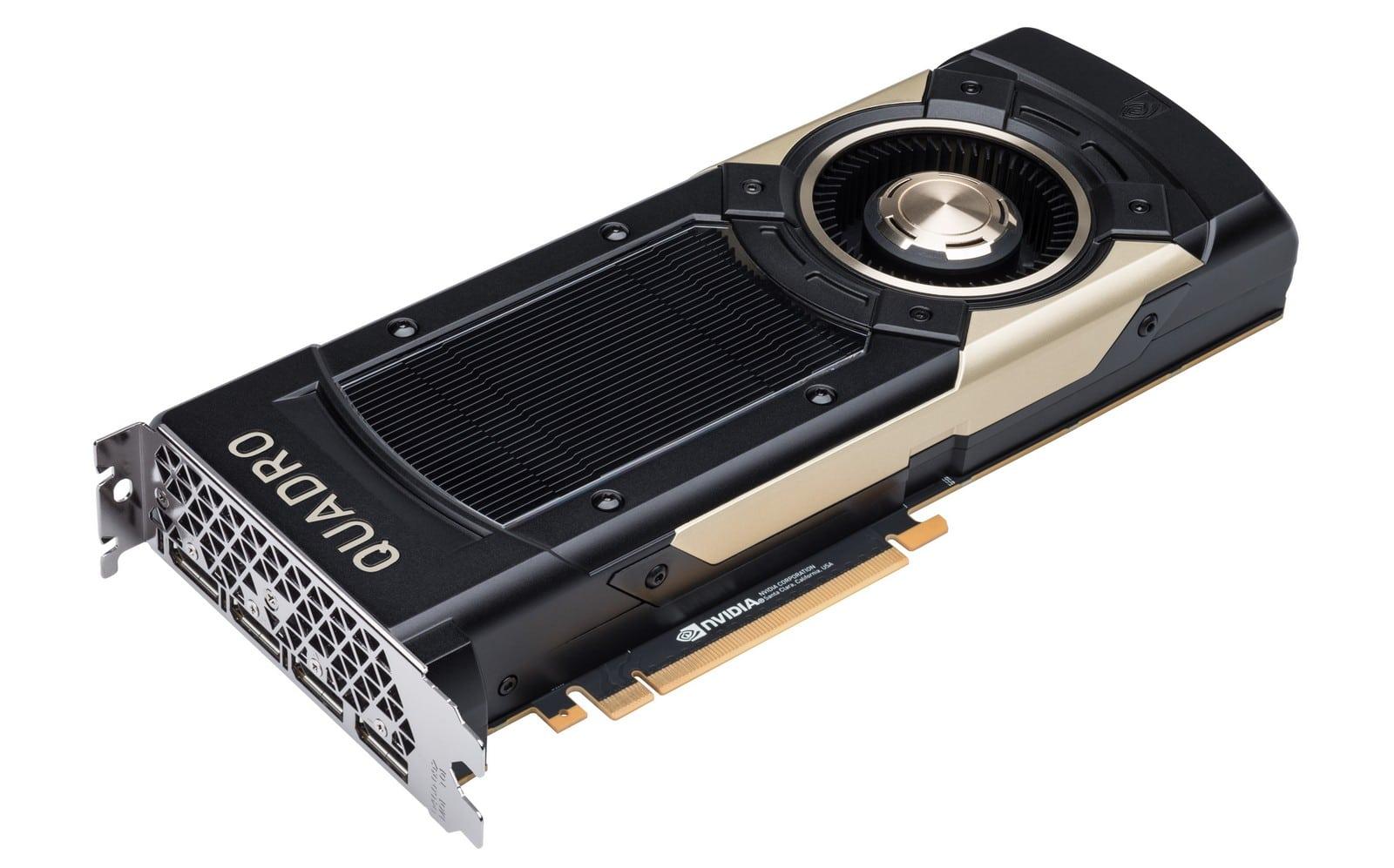 بطاقة Quadro GV100 بذاكرة 32GB HBM2