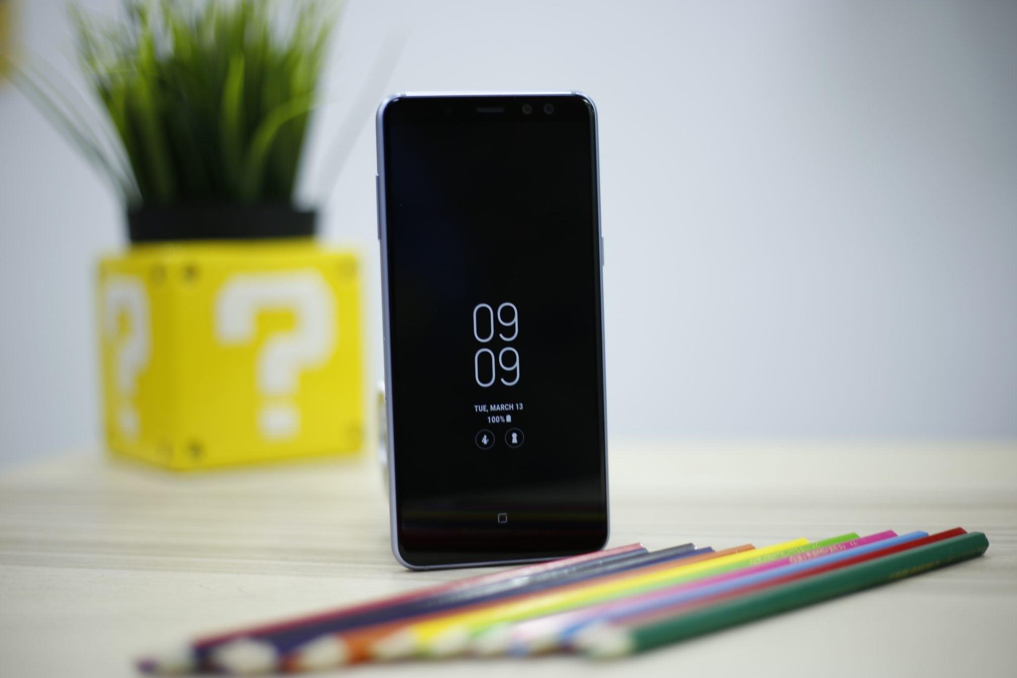 Samsung Galaxy A8 Always on Diplay