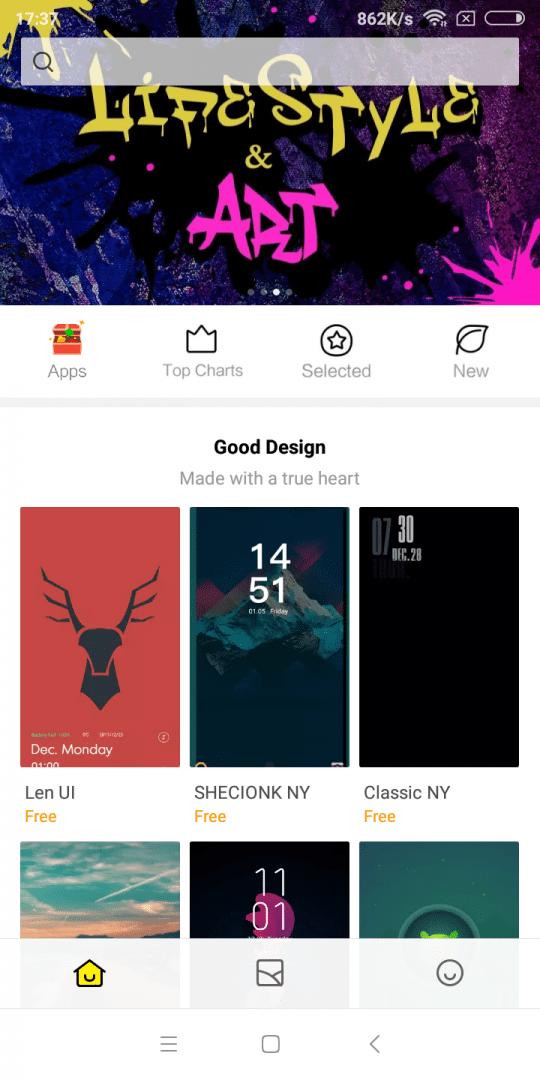 Xiaomi Redmi 5 MIUI UI Themes