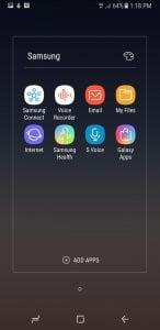 Samsung Galaxy A8 Phone Bloatware