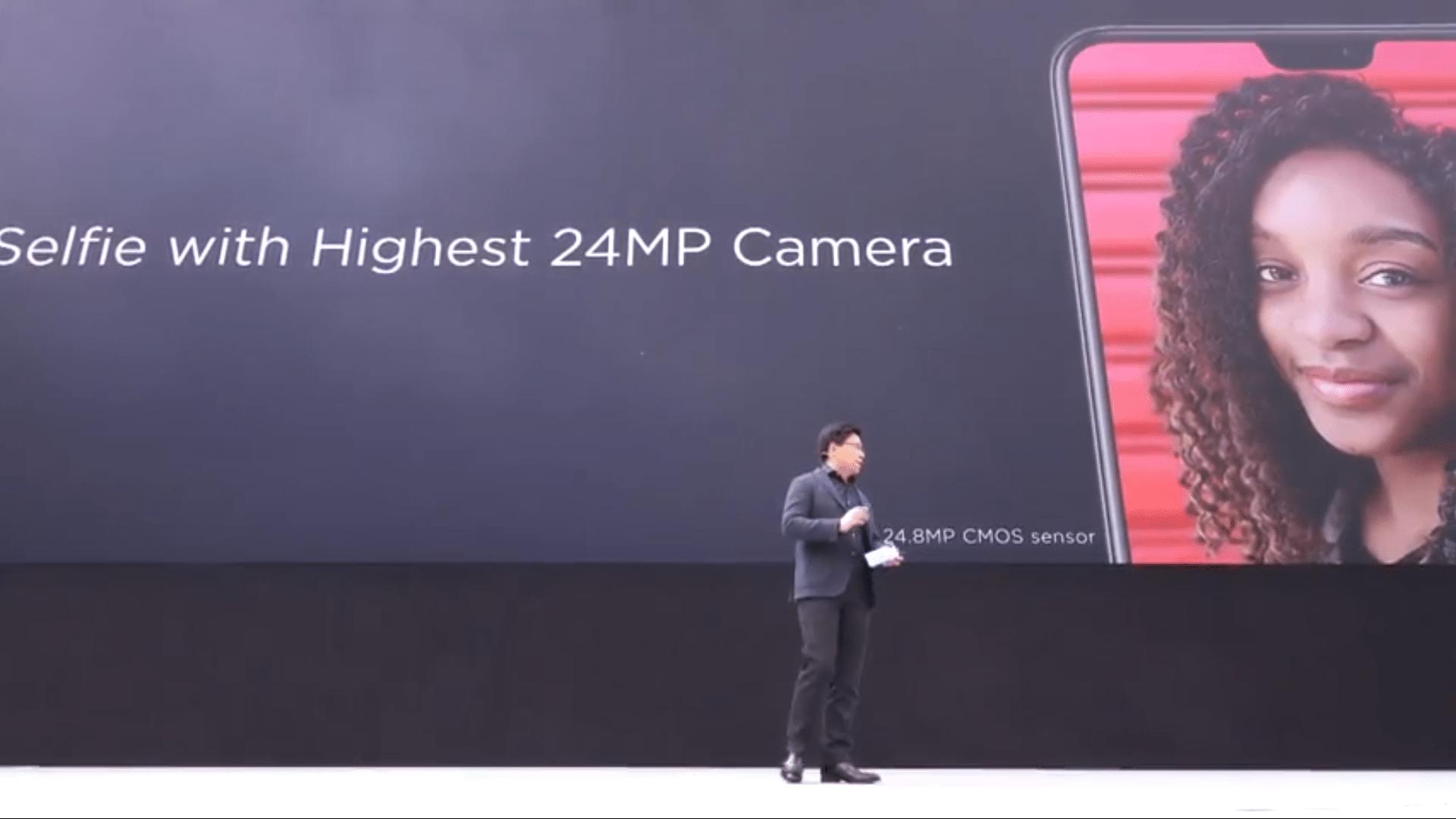 Huawei P20 P20 Pro Selfie Cameras