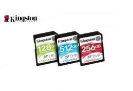 الكشف عن سلسلة بطاقات ذاكرة Canvas من Kingston Digital