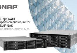 الكشف عن حلول التوسعة الجديدة REXP-1610U-RP/REXP-1210U-RP لوحدات QNAP NAS