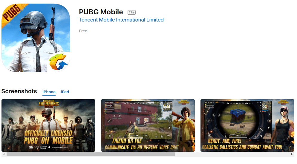 PUBG android ios