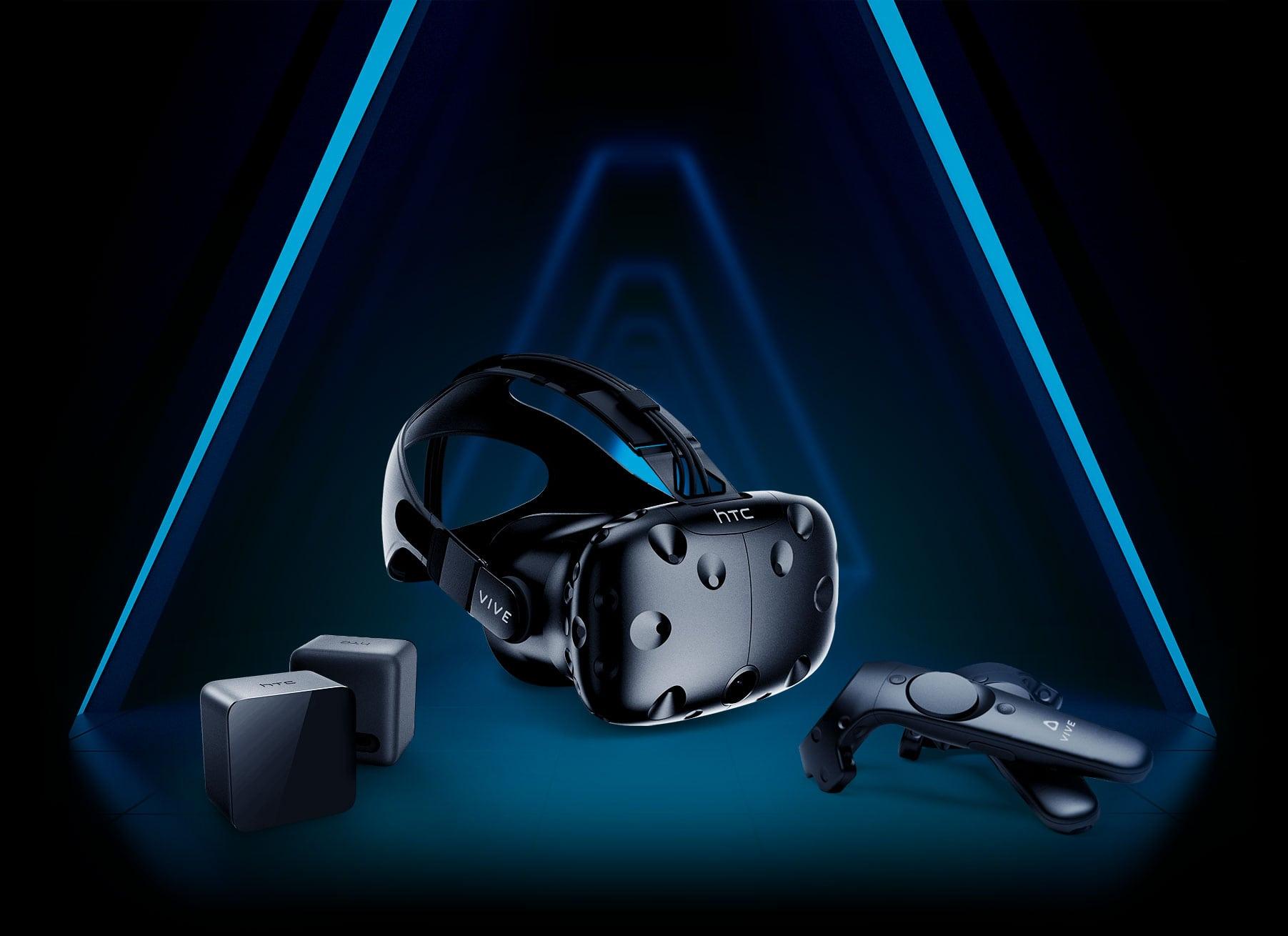 834daec16 نظارة الواقع الافتراضي HTC Vive الحالية متوفرة بسعر 500 دولار بدلاص من 600  دولار