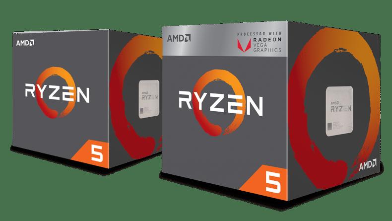 مواصفات AMD Ryzen APUs الجديدة