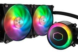 وحش التبريد Cooler Master يقدم أول مشتت مائي متكامل بإضاءة RGB