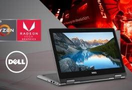 شركة Dell تزود بعض من أجهزتها المحمولة بقوة معالجات AMD Ryzen APU