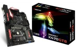 شركة BIOSTAR تفتتح تشكيلتها بشريحة X480 مع لوحة RACING X470GT8