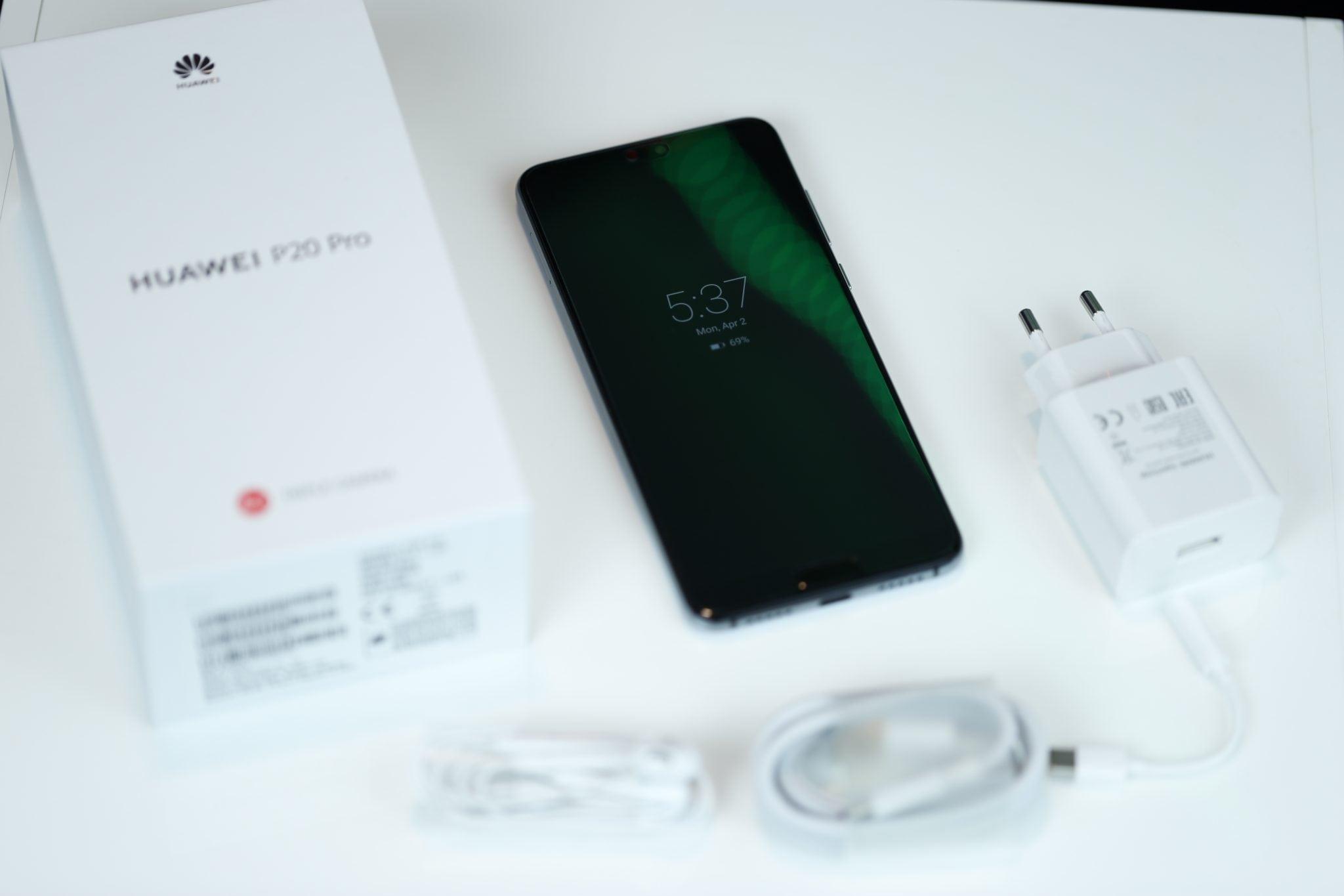 Huawei P20 Pro Always On Display