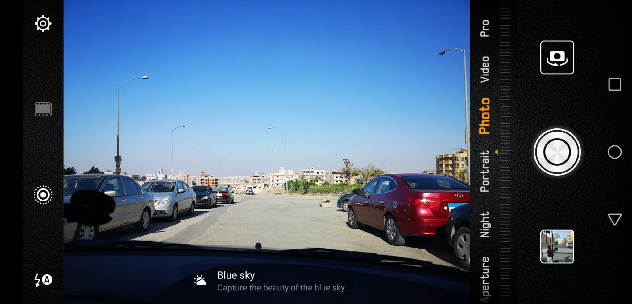 P20 PRO Camera - Scene auto detection (2)