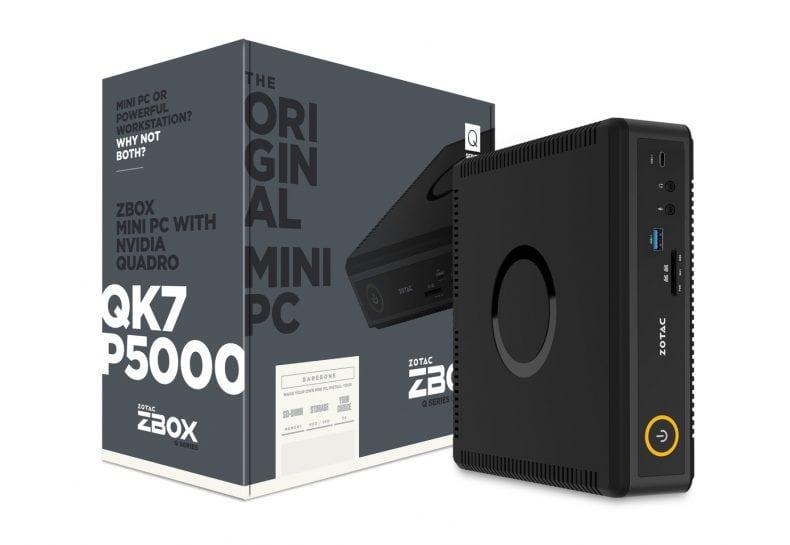 جهاز Zotac ZBOX Q-Series ببطاقات NVIDIA Pascal