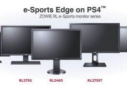 الإعلان عن سلسلة شاشات BenQ ZOWIE RL e-Sports الموجهة لجهاز الكونسول PS4