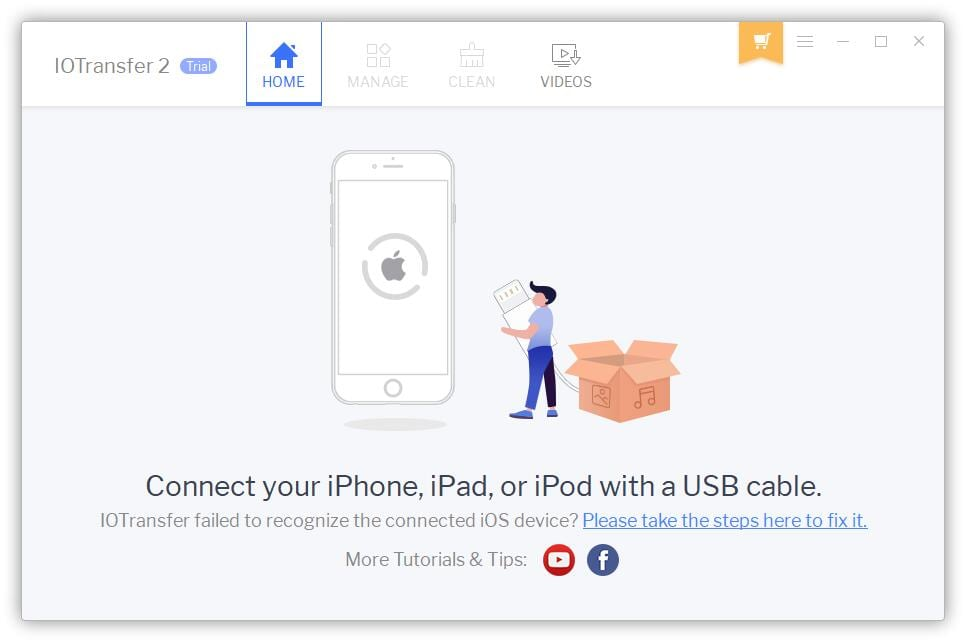 1. IO Transfer connect device