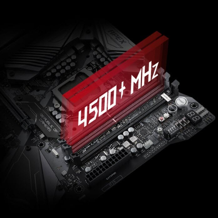 ASUS ROG OVERCLOCKING MOTHERBOAED (MEMORY)