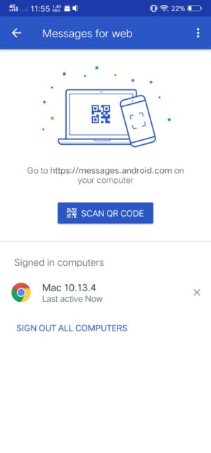 Android Messages ، رسائل اندرويد