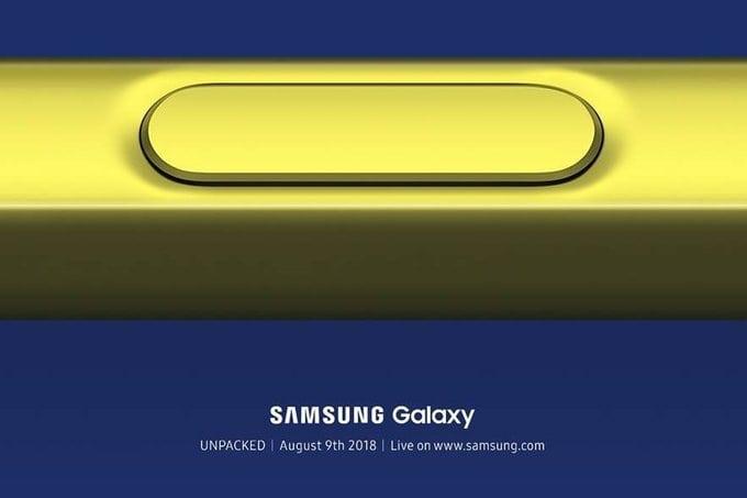 سامسونج تحدد موعد إطلاق Galaxy Note 9 يوم 9 أغسطس القادم - عرب هاردوير