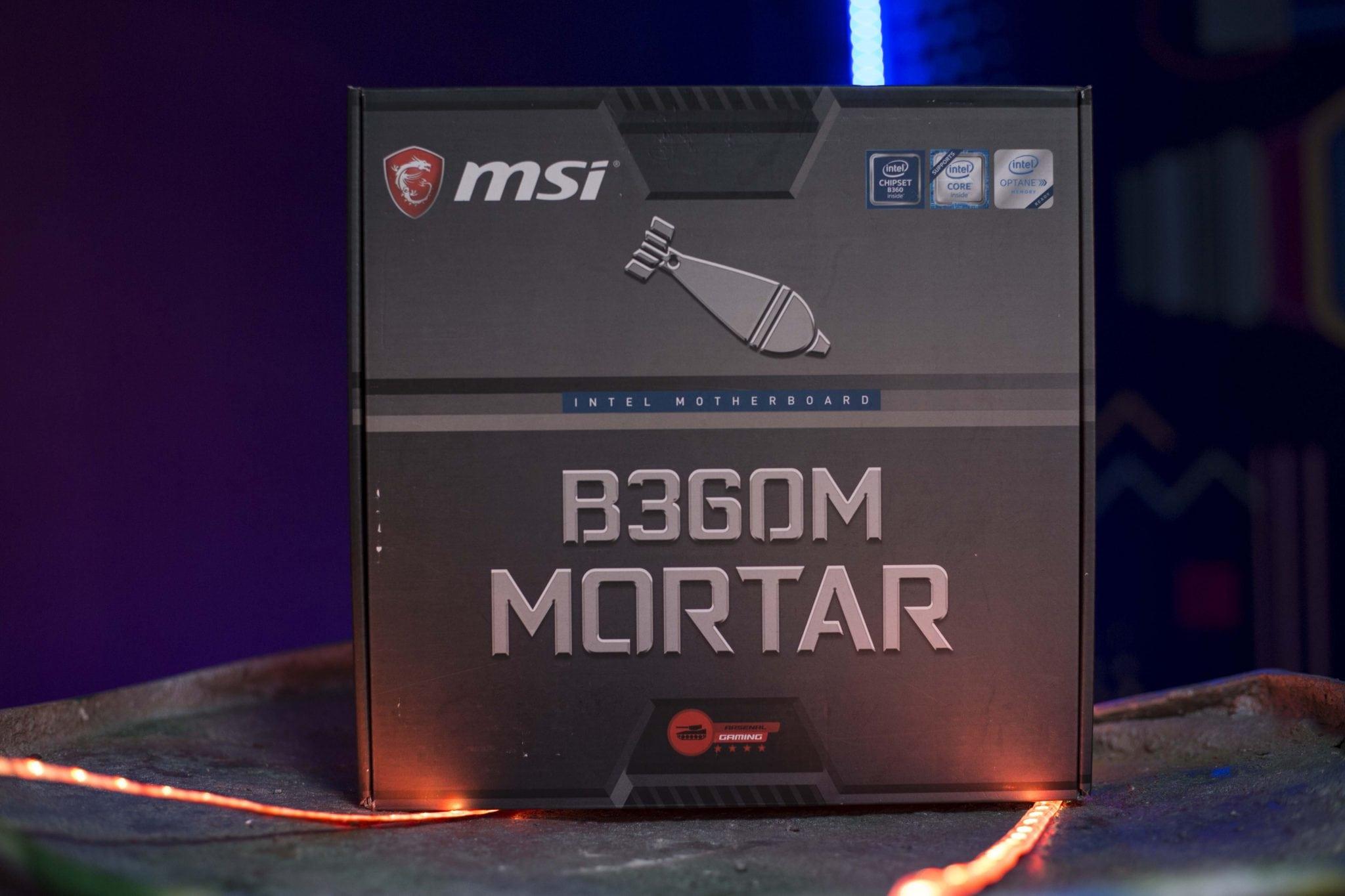 MSI B360M Mortar